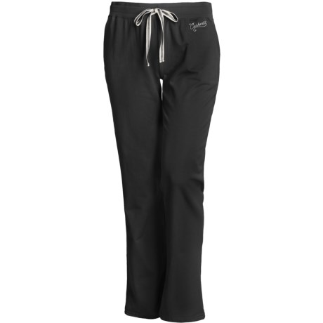 Carhartt Track Pants - Stretch Cotton (For Women) in Black