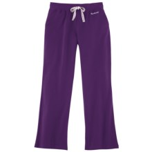 Carhartt Track Pants - Stretch Cotton (For Women) in Grape Seed - 2nds