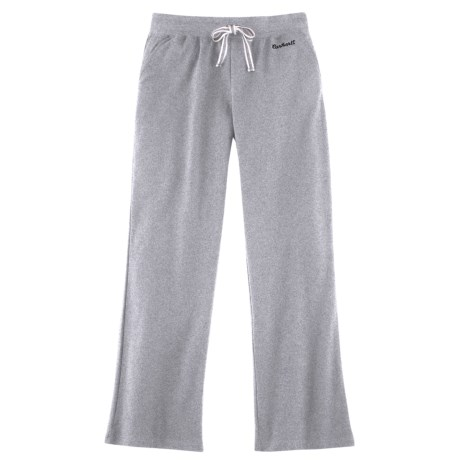 Carhartt Track Pants - Stretch Cotton (For Women) in Heather Grey