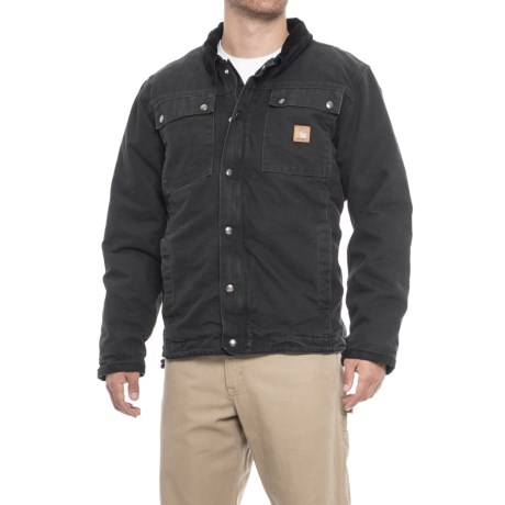 6e3ebd589d5 Carhartt Tractor Jacket - Insulated (For Men) in Black