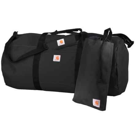 Carhartt Trade Series 2-in-1 Duffel Bag and Utility Pouch - Extra Large in Black - Closeouts