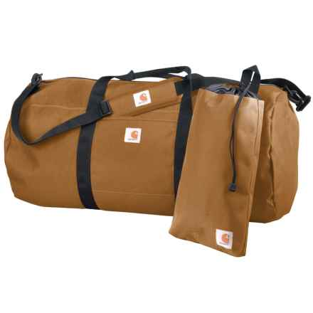 Carhartt Trade Series 2-in-1 Duffel Bag and Utility Pouch - Extra Large in Carhartt Brown - Closeouts