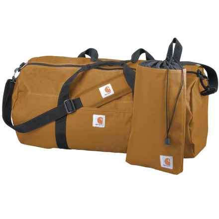 Carhartt Trade Series 2-in-1 Duffel Bag and Utility Pouch - Large in Carhartt Brown - Closeouts