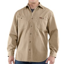 Carhartt Trade Shirt - Long Sleeve (For Tall Men) in Field Khaki - 2nds