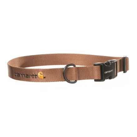 Carhartt Tradesman Dog Collar in Carhartt Brown - Closeouts