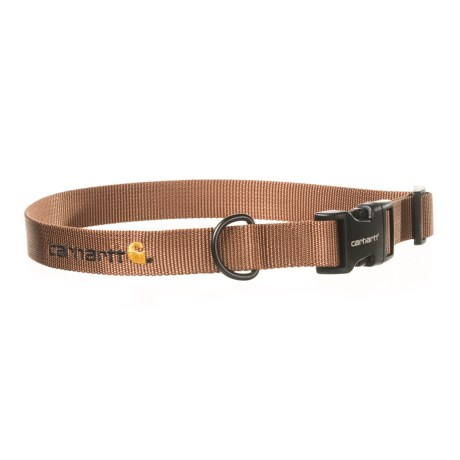 Carhartt Tradesman Dog Collar in Carhartt Brown