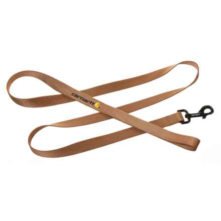 Carhartt Tradesman Dog Leash - 6' in Carhartt Brown - Closeouts