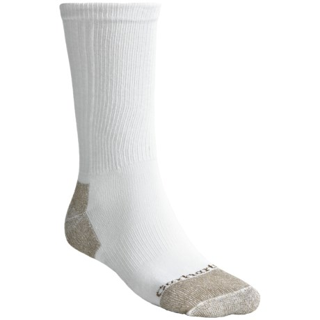 Carhartt Traditional All-Season Cotton Socks - Crew, Lightweight (For Men) in White