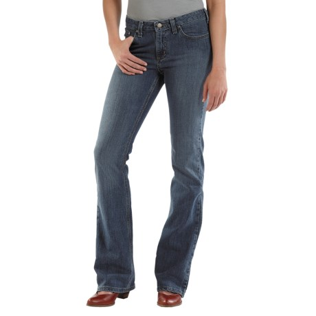 Carhartt Traditional Fit Jeans - Bootcut (For Women) in Faded Indigo