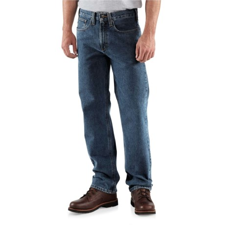 Carhartt Traditional Fit Straight-Leg Jeans - Factory Seconds (For Men) in Dark Vintage Blue