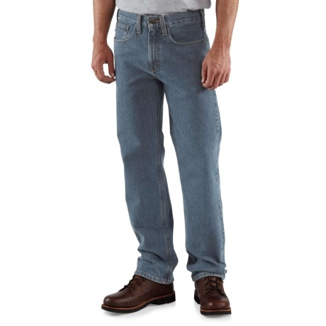 Carhartt Traditional Fit Straight-Leg Jeans - Factory Seconds (For Men) in Deepstone