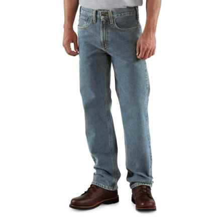 Carhartt Traditional Fit Straight-Leg Jeans - Factory Seconds (For Men) in Light Vintage Blue - 2nds