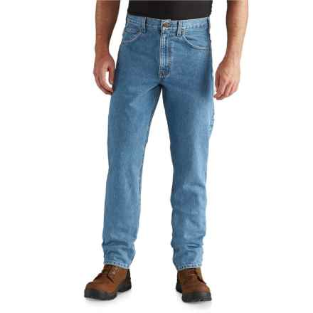 56cc55d5864 Carhartt Traditional Fit Tapered Leg Jeans - Factory Seconds (For Men) in  Stonewash -