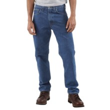 Carhartt Traditional Fit Work Jeans (For Men) in Dark Stone Wash - 2nds