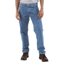 Carhartt Traditional Fit Work Jeans (For Men) in Stone Wash - 2nds