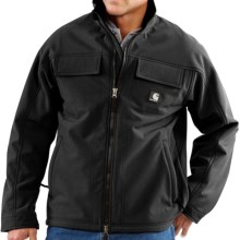 Carhartt Traditional Work Jacket - Soft Shell (For Men) in Black - 2nds