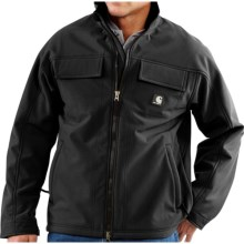 Carhartt Traditional Work Jacket - Soft Shell (For Tall Men) in Black - 2nds