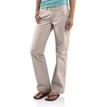 Carhartt Trail Pants - Straight Leg (For Women) in Putty - Closeouts