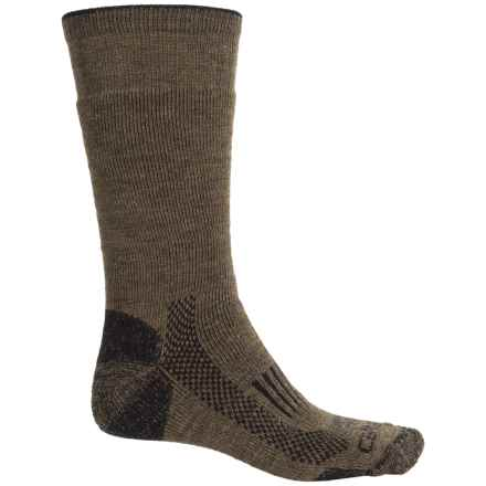 Carhartt Triple Blend Thermal Socks - Crew (For Men) in Brown - Closeouts