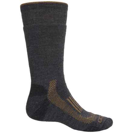 Carhartt Triple Blend Thermal Socks - Crew (For Men) in Charcoal Heather - Closeouts