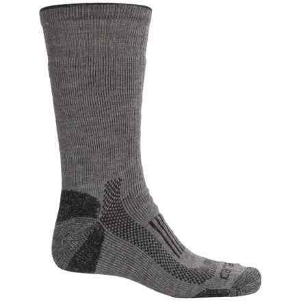 Carhartt Triple Blend Thermal Socks - Crew (For Men) in Heather Grey - Closeouts