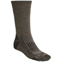 Carhartt Triple-Blend Thermal Socks - Midweigh, Crewt (For Men) in Brown - 2nds