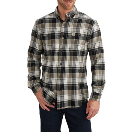 3829db88 Carhartt Trumbull Plaid Flannel Shirt - Long Sleeve, Factory Seconds (For  Men) in