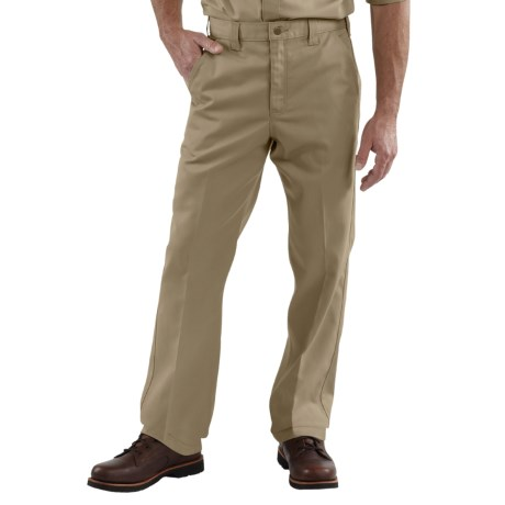 Carhartt Twill Work Pants - Factory Seconds (For Men) in Khaki