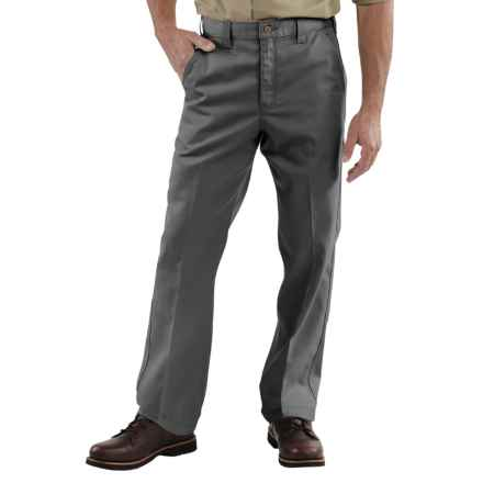 Carhartt Twill Work Pants (For Men) in Dark Grey - 2nds