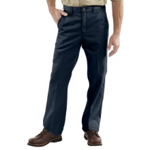 Carhartt Twill Work Pants (For Men) in Navy - 2nds