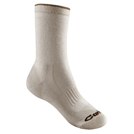 Carhartt Ultimate Merino Wool Socks - Lightweight, Crew (For Women) in Khaki