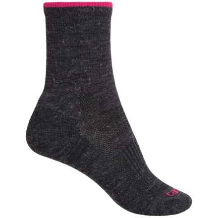 Carhartt Ultimate Work Socks - Wool Blend, Crew (For Women) in Charcoal Heather - Closeouts