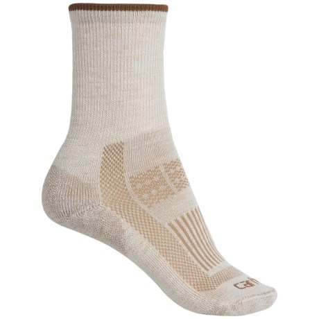 Carhartt Ultimate Work Socks - Wool Blend, Crew (For Women) in Khaki