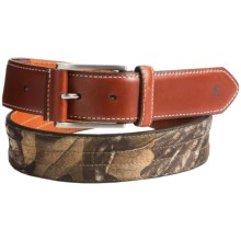 Carhartt Upland Leather Belt (For Men) in Camo - Closeouts