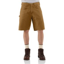 Carhartt Utility Shorts - Prewashed Canvas  (For Men) in Buckskin - 2nds