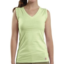Carhartt V-Neck Tank Top (For Women) in Key Lime - Closeouts