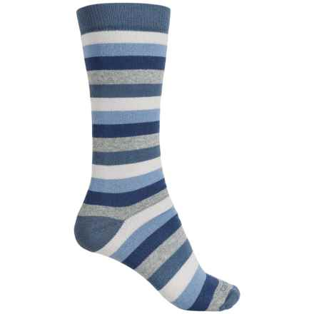 Carhartt Vibrant Stripe Boot Socks - Mid Calf (For Women) in Blue - Closeouts