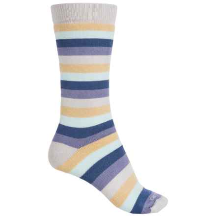 Carhartt Vibrant Stripe Boot Socks - Mid Calf (For Women) in Dusk - Closeouts