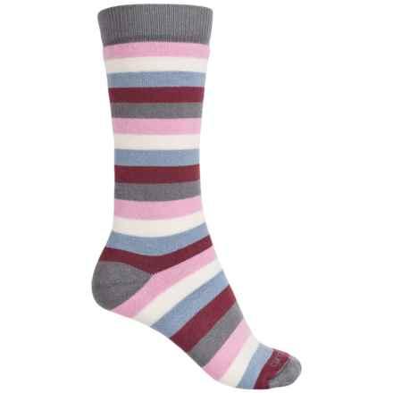 Carhartt Vibrant Stripe Boot Socks - Mid Calf (For Women) in Merlo - Closeouts