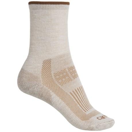 782074a21f Carhartt WA142 Ultimate Work Socks - Wool Blend, Crew (For Women) in Khaki