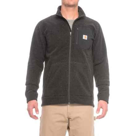 Carhartt Walden Fleece Sweater - Zip Front, Factory Seconds (For Men) in Carbon Heather - 2nds