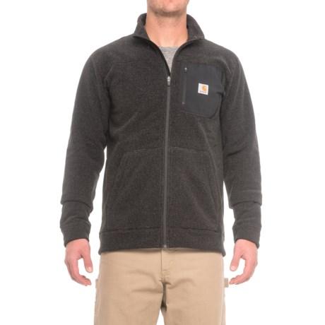 Carhartt Walden Fleece Sweater - Zip Front, Factory Seconds (For Men) in Carbon Heather