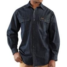 Carhartt sierra trading post for Tall mens work shirts