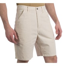 Carhartt Washed Drill Work Shorts (For Men) in Natural - 2nds