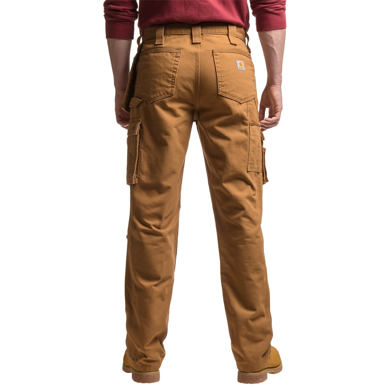 carhartt washed duck double front work pants for men. Black Bedroom Furniture Sets. Home Design Ideas