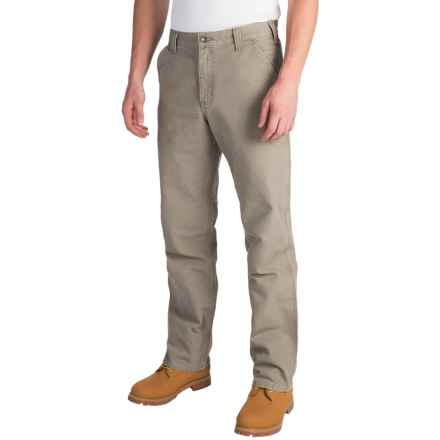 Carhartt Washed Duck Dungaree Pants - Relaxed Fit, Factory Seconds (For Men) in Desert - 2nds