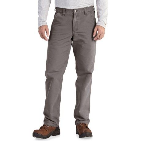 Carhartt Washed Duck Dungaree Pants - Relaxed Fit, Factory Seconds (For Men)