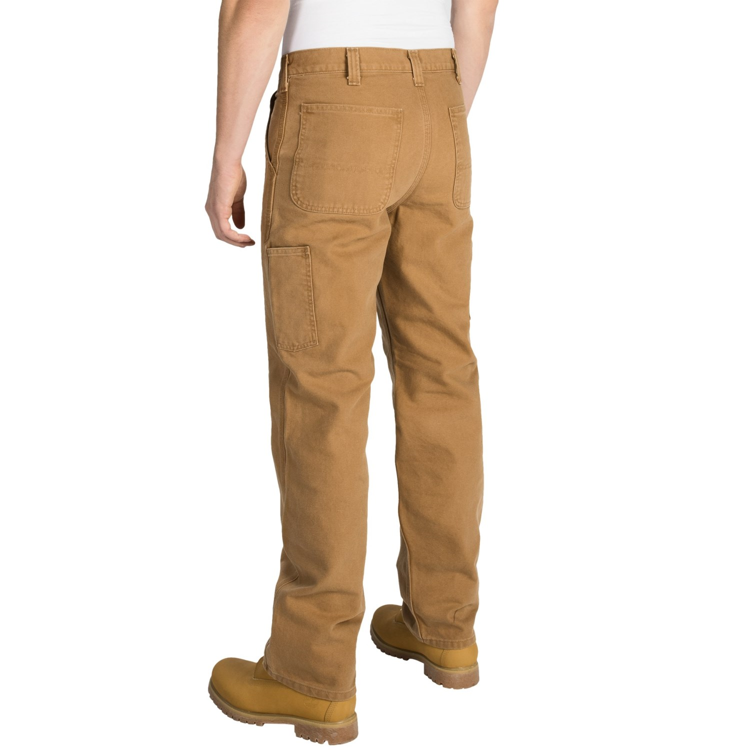 f82912d679b15 Carhartt Washed Duck Dungaree Pants For Men. Carhartt Wb058 Women S Relaxed  Fit Single Knee Carpenter Jean Discontinued ...