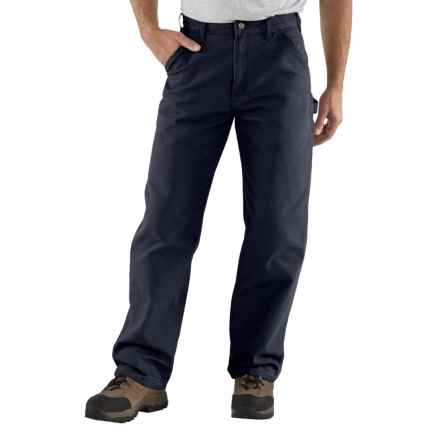 Carhartt Washed-Duck Tool Pants - Factory Seconds (For Men) in Midnight - 2nds