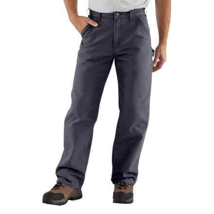 Carhartt Washed-Duck Tool Pants - Factory Seconds (For Men) in Petrol Blue - 2nds